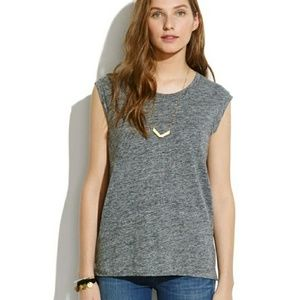 MADEWELL Muscle T-shirt - Heather Grey